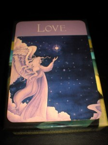 oracle and self-care cards, messages of love