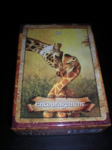 oracle cards, encouragement messages
