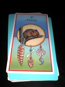 animal cards, oracles, mouse messages, scrutiny,