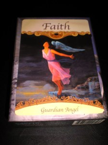 angel messages of faith, oracle cards