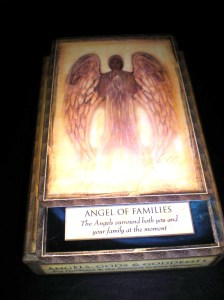 angel messages, family, no judgement, loved ones, oracle cards