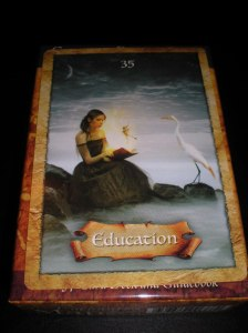 oracle cards, enchanted map messages, education, life long learning