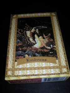 fairie message of kindness, lovingkindness, oracle cards