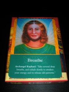archangel messages, raphael, breathe