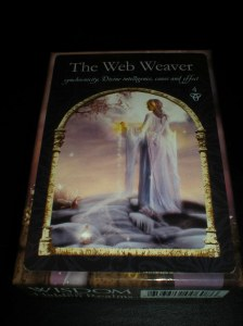oracle cards, the web weaver, colette baron reid