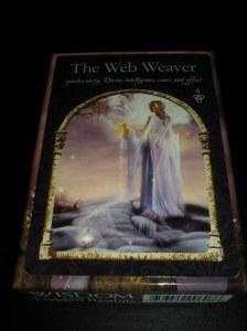 oracle cards, the web weaver, colette baron reid