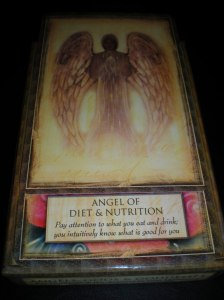 oracle cards, angel messages, no dieting, eat well