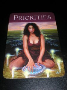 self-care, priorities