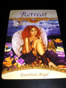 angel messages, guardian angels, retreat, self-care
