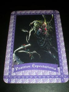 fairie messages of positive expectations, oracle cards