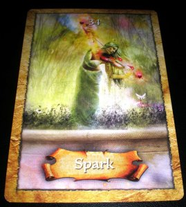 oracle cards, spark, hopeful planning