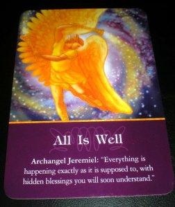 archangels, messages from archangel jeremiel, oracle cards