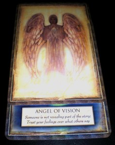 oracle cards, angel messages, clear vision, influence,