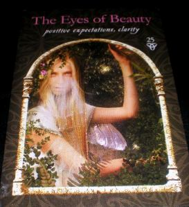 oracle cards, The Eyes of Beauty, perspective messages