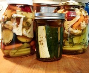 Three jars full.