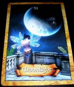 oracle cards, moonlight wisdom, messages