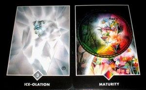 osho zen tarot, alternative tarot decks, maturity or ice-olation