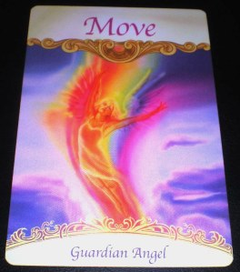 angel messages, movement