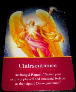 angel messages, raguel, clairsentience,