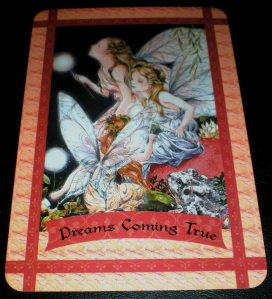 fairie messages, oracle cards, dreams come true