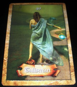 oracle cards, talismans, messages of success