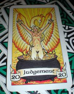 Judgement  ~  20 Represented as The Phoenix