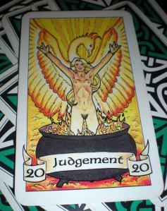 Judgement  ~  20 Represented as The Phoenix