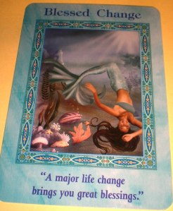 mermaid messages, rest, blessed change