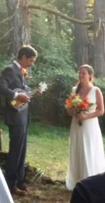 His vows were a song he wrote for her.