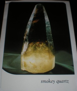 crystal messages, oracle cards, smoky quartz