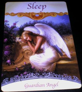 angel messages, rest, sleep, guardian angel
