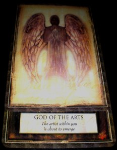 oracle cards, god of the arts