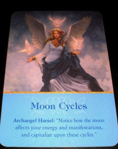 oracle cards, angel messages, lunar cycles, moon magic