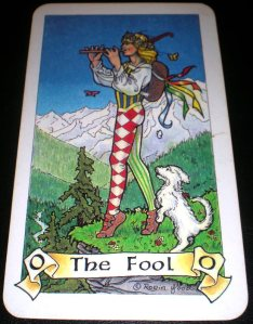 The Fool  ~  0  ~ Major Arcana