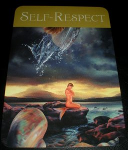oracle cards, self-care