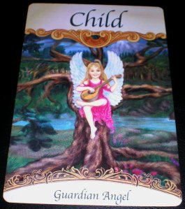 angel cards, guardian angel messages, inner child