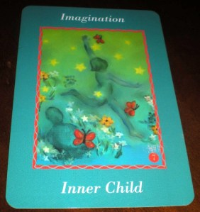 oracle cards, inner child