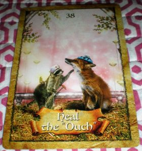 oracle cards, heal the ouch, colette baron-reid