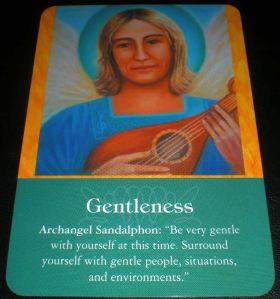 archangel sandalphon gentleness