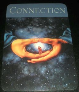 oracle card connection
