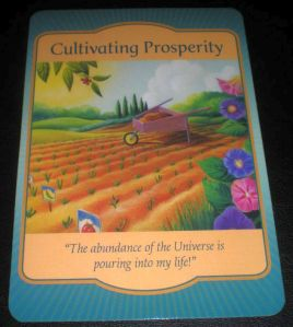 prosperity oracle card