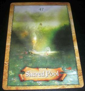 sacred pool oracle card