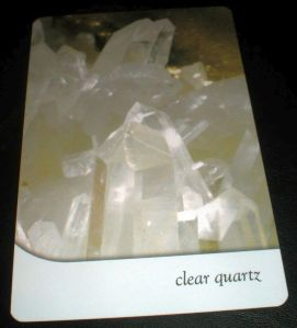 harmony from clear quartz