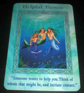 mermaid and dolphin messages