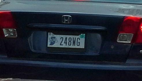 Arizona State License Plate Frame