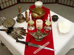 pagan sacred space