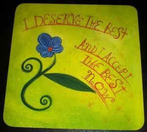 i deserve the best