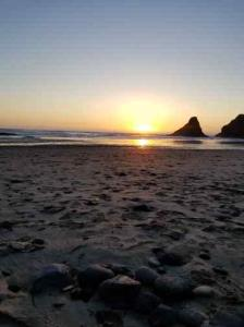 heceta beach sunset